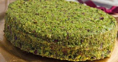 Torta pistacchio siciliano