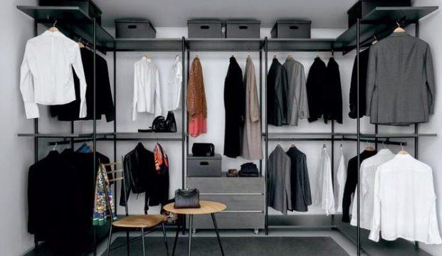 Cabina armadio soluzione con stile e semplicita - Soluzioni per cabina armadio ...