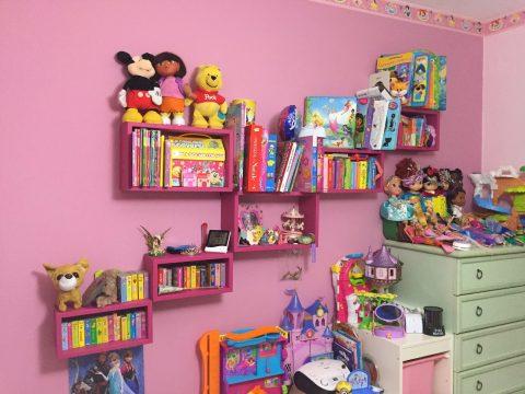 Idee per cameretta bambini scelta colori pareti e for Complementi d arredo per camerette