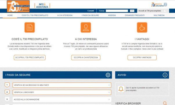Informazioni sul 730 precompilato soluzioni per casa - Assicurazione casa si puo detrarre dal 730 ...