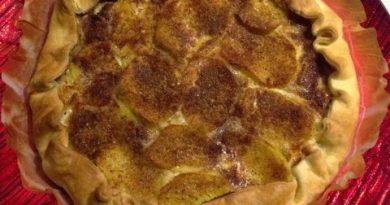 Torta salata con biete e patate