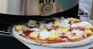 pizza nel barbecue