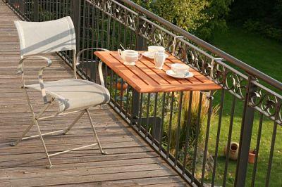 Tavolino da balcone pieghevole - Soluzioni per casa