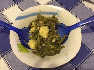 Insalata fagiolini e patate