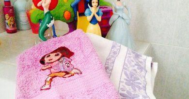 Personalizzare un asciugamano