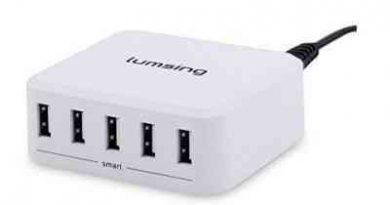 caricatore USB Lumsing