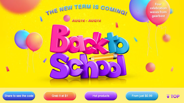 Back to School Gearbest
