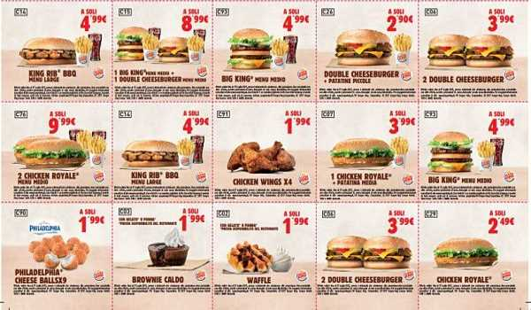 coupon BurgerKing