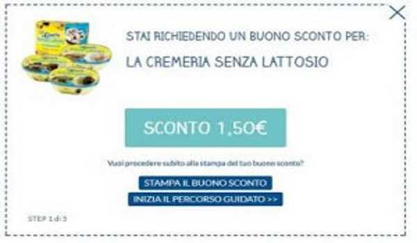 coupon la cremeria