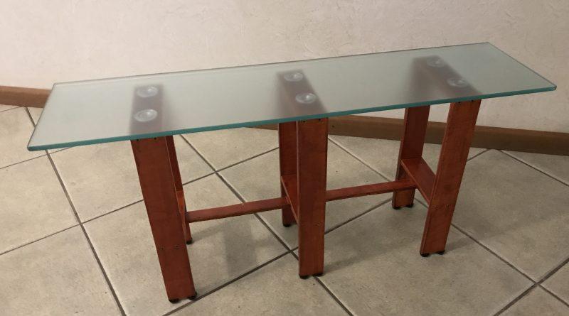 tavolino salotto in vetro fai da te