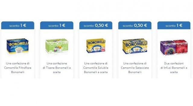 coupons prodotti Bonomelli