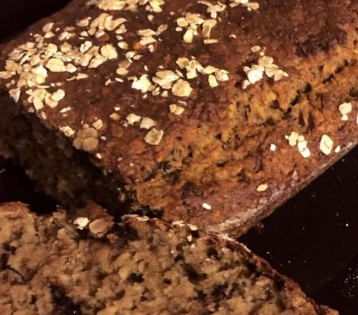 banana bread con farina integrale macinata a pietra